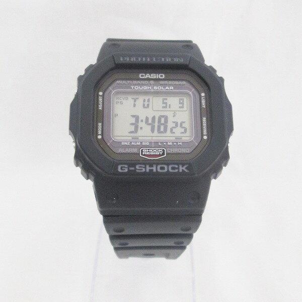 時計 カシオ G-SHOCK GW-5000 メンズ ブラック タフソーラー スクリューバッグ ★送料無料★【中古】【あす楽】