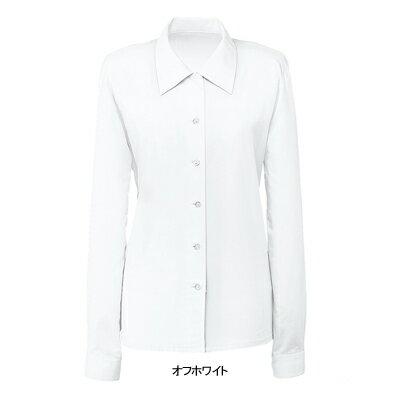 事務服・制服・オフィスウェア  ヌーヴォ FB7503 ブラウス(長袖) 7号・オフホワイト1