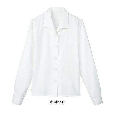 事務服・制服・オフィスウェア  ヌーヴォ FB7525 ブラウス(長袖) 7号・オフホワイト1