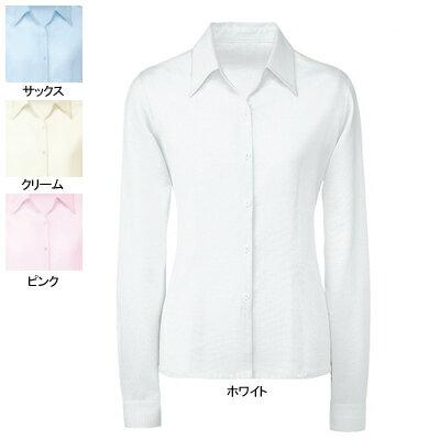 事務服・制服・オフィスウェア  ヌーヴォ FB7532 ブラウス(長袖) 21号~23号