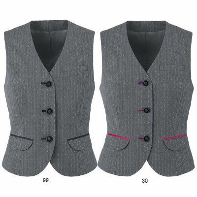 満足のいく価格で 事務服・制服・オフィスウェア  ピエ V9430-99 ベスト 11号