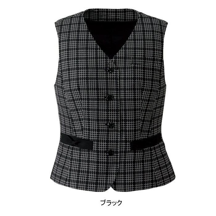 事務服・制服・オフィスウェア  ヌーヴォ FV36125 ベスト 5号~19号