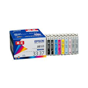 【送料無料】【純正品】 エプソン(EPSON) インクカートリッジ 9色パック 型番:IC9CL3337 単位:1箱(9色パック)