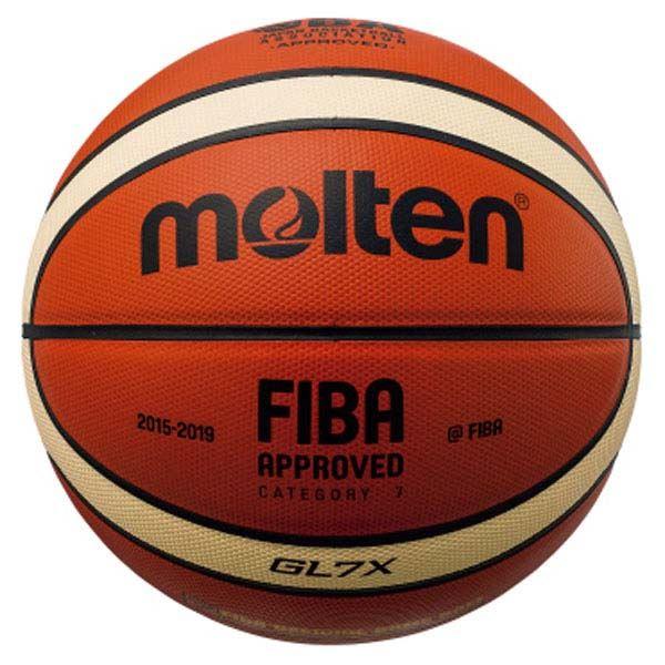 【送料無料】モルテン(Molten) バスケットボール7号球 GL7X 国際公認球・JBA検定球 BGL7X