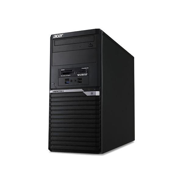 【送料無料】Acer VM4650G-A58FB6 (Core i5-7400/8GB/1TBHDD/DVD+/-RW/Windows 10 Pro64bit/DisplayPortx2/HDMI/VGA/1年保証/ブラック/Office Home&Business2016) VM4650G-A58FB6