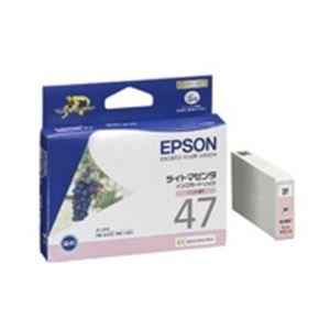 【送料無料】(業務用40セット) EPSON エプソン インクカートリッジ 純正 【ICLM47】 ライトマゼンタ