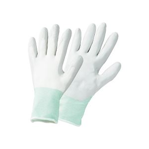 【送料無料】(まとめ) TANOSEE ニトリルゴム手袋薄手 L グレー 1セット(25双:5双×5パック) 【×3セット】