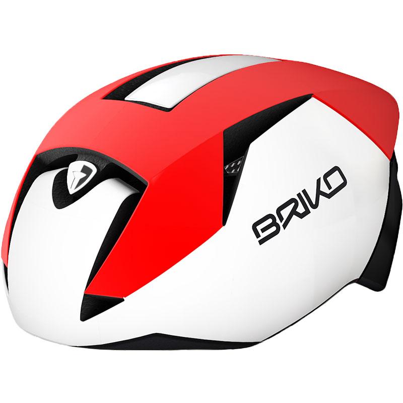 ブリコ ガス マットレッド/ホワイト/ブラックヘルメット
