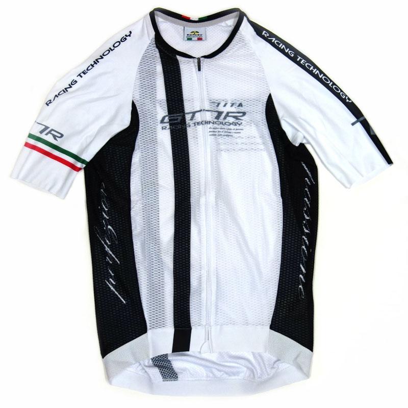セブンイタリア GT-7RR Climber's Jersey ホワイト/ブラック