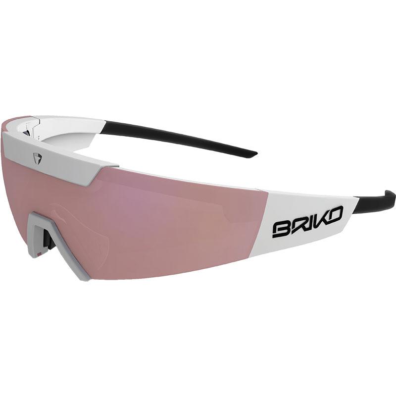【現品特価】ブリコ セルベス ホワイト サングラス  調光レンズ