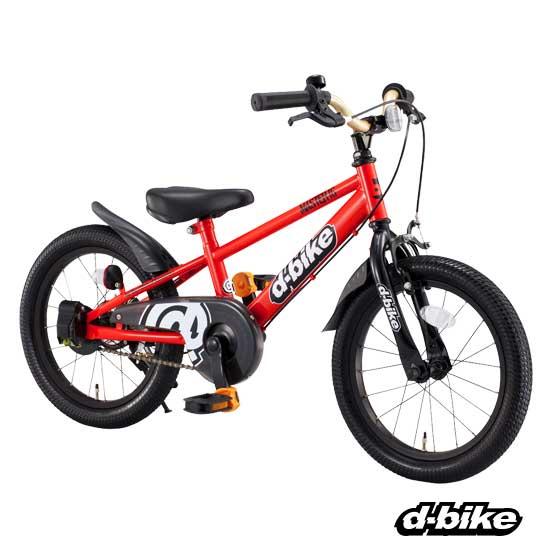 【代引不可】アイデス D-Bike Master 16インチ レッド