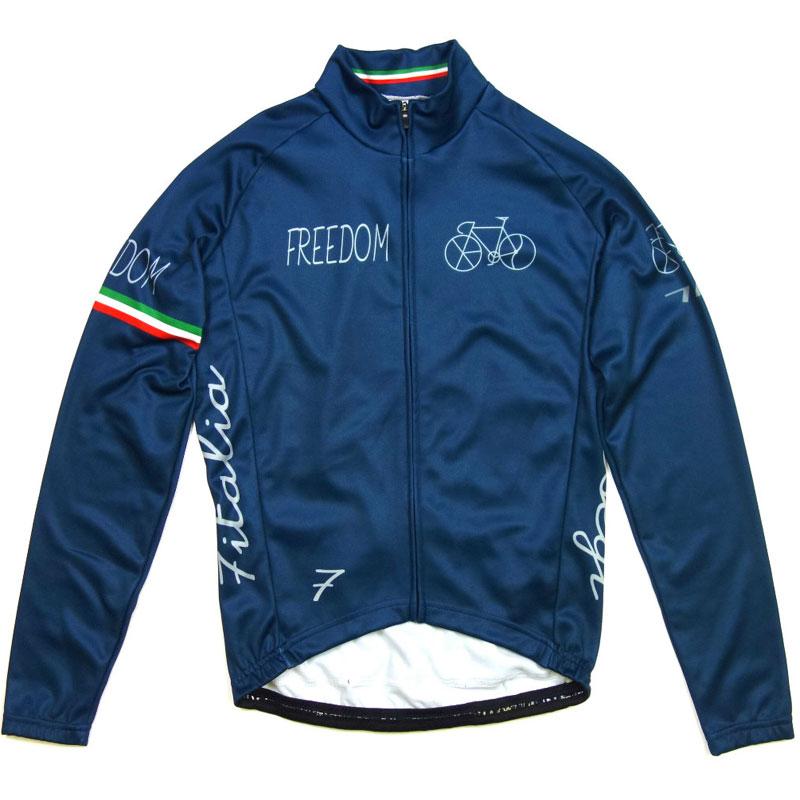 【現品特価】セブンイタリア Freedom Bicycle LS Jersey Blue