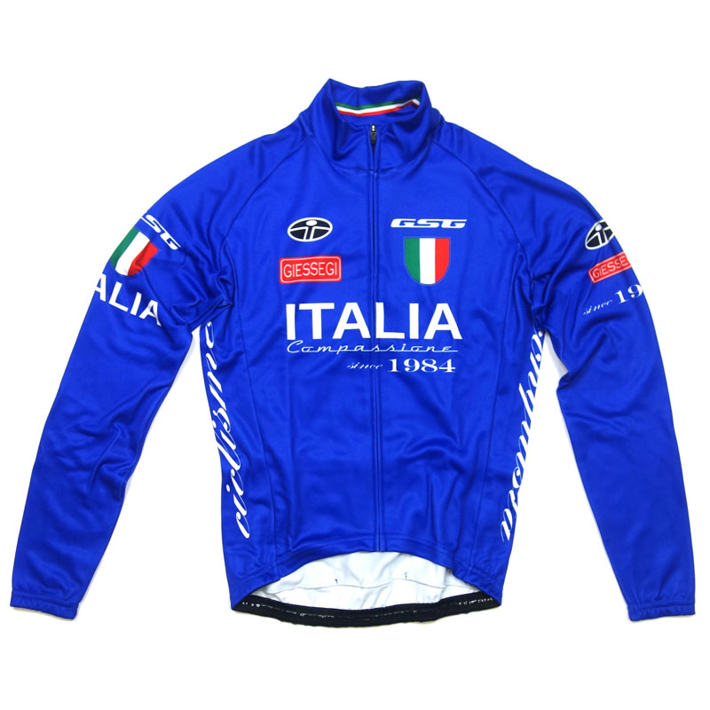 【現品特価】GSG National LS Jersey Italy