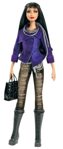 バービーBarbie Fashion Stardoll Doll - Mix and Match Trendy, Original Fashions and Accessories  W