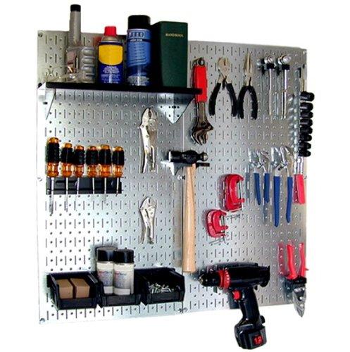 工具・壁掛けボードキット スチール製