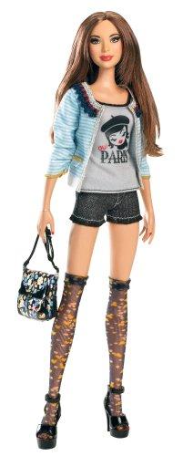 バービーBarbie Fashion Stardoll Doll - Mix and Match Trendy, Original Fashions and Accessories