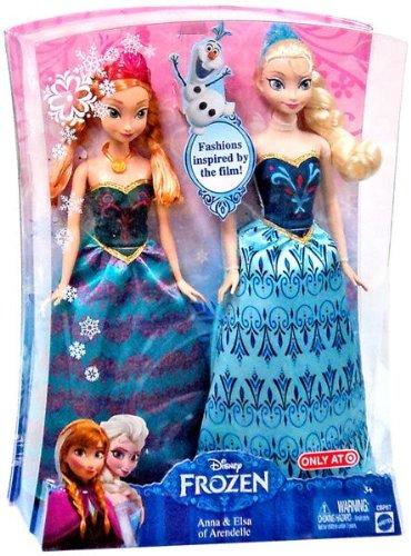 アナと雪の王女 アナ&エルサ Arendelle Doll Set 輸入