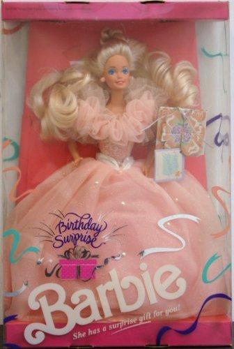 1991 Birthday Surprise Barbie バービー Blonde Caucasion 人形 ドール