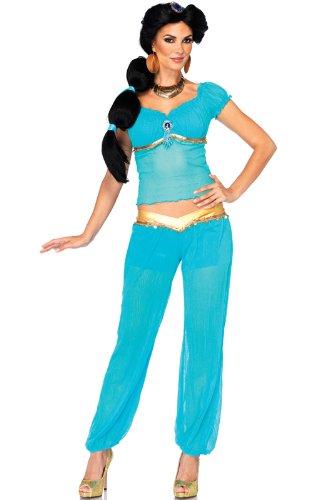 ディズニー/ジャスミン(アラジン) Disney Princess Jasmine 大人用コスチューム/ハロウィン/コスプレ/