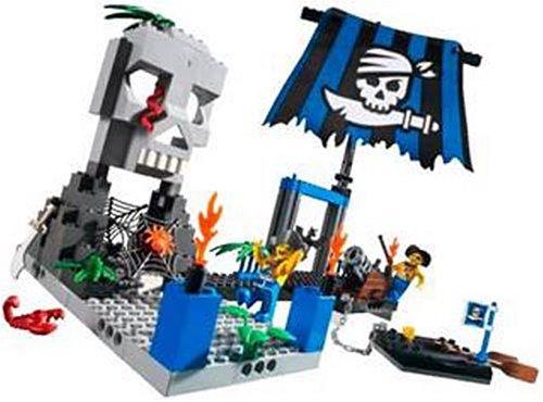 レゴ パイレーツジュニア ガイコツ島 7074