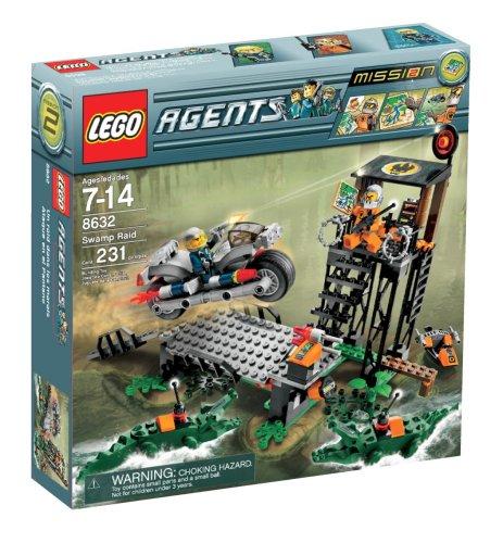 LEGO 8632 Mission 2: Swamp Raid(レゴ エージェント スワンプ レイド)