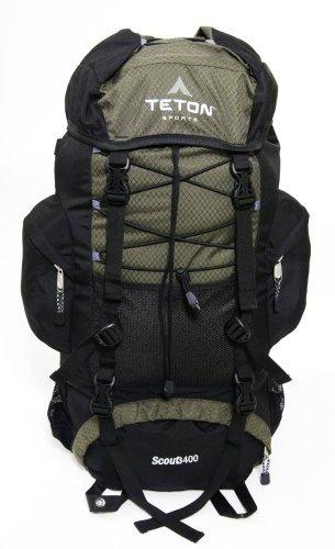 TETON Sports Scout 3400  登山・ハイキングに最適!バックパック ハンターグリーン