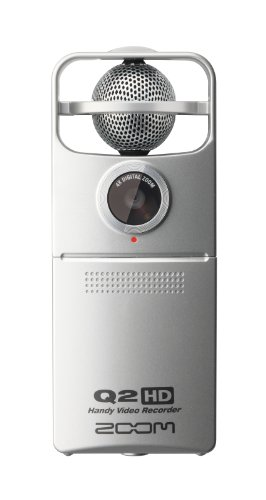 ZOOM マイク付属ハンディHDビデオカメラ Q2HD