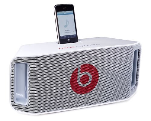 beats by dr.dre Monster Beats by Dr. Dre Beatbox Portable アイポッドドック Dock White