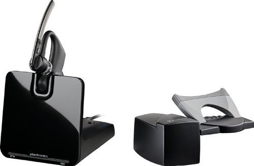 PLANTRONICS Voyager Legend CS with HL10 Wireless Headset System - Retail Packaging - Silver