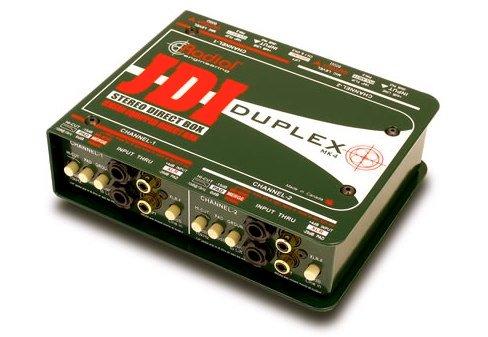 Radial JDI Duplex MK4 デュアル パッシブ ダイレクトボックス  海外正規品-