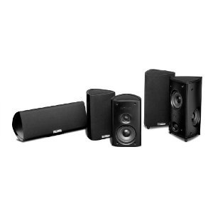 Polk ポーク Audio RM85 5-Channel Home Theater System (Set of Five, Black)