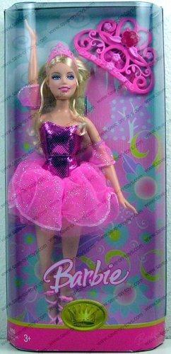 バービー Barbie Ballerina Princess (Pink Outfit) ドール 人形 フィギュア