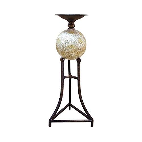Design Toscano Elevated Sphere Candlestick, 16'