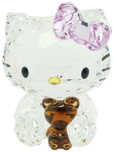 スワロフスキー SWAROVSKI クリスタル フィギュア Hello Kitty Bear (ハローキティ ティディベア) Hello