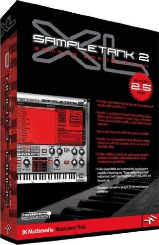◆最新版◆ IK Multimedia SampleTank 2.5XL ◆マルチ音源 ◆