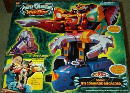 Deluxe Isis Command Megazord Power Rangers Wild Force Electronic Action Figure by Power Rangers