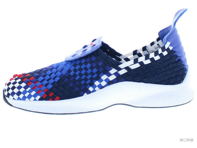【US8】NIKE AIR WOVEN QS 530986-460 obsidian/unvrsty red-dp ryl bl エア ウーブン 未使用品【中古】