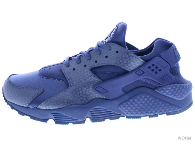 【27.5cm】NIKE WMNS AIR HUARACHE RUN PRM 683818-400 blue legend/blue legend ナイキ エア ハラチ 未使用品【中古】