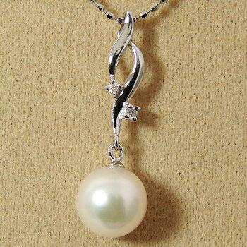 「あこや本真珠 パールペンダントトップ(ヘッド) ホワイト系 7.0-7.5mm BBB」K14WG[n5]