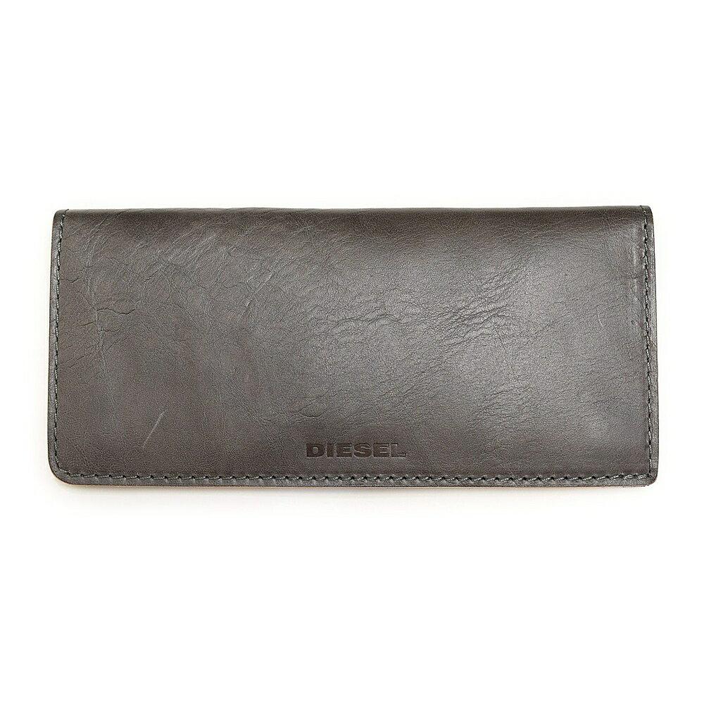 高品質および安い価格で ディーゼル 財布 長財布 DIESEL X03808 P0231 T8081 Grey Gargoyle 24 A DAY