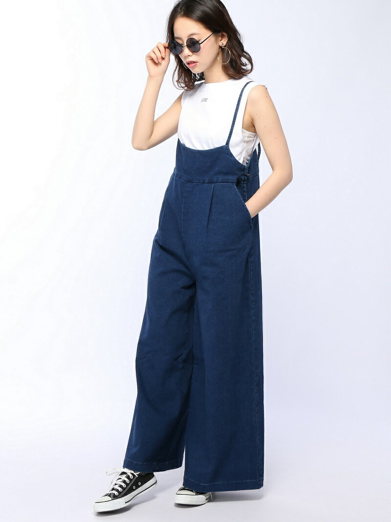 X-girl TANK TOP & SALOPETTE SET エックスガール【送料無料】