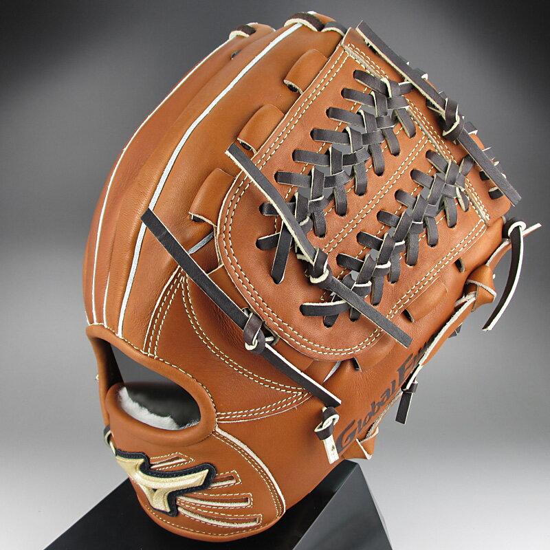 卸売価格 【送料無料】 2015年モデル ミズノ グローバルエリートQMライン 一般硬式内野手用H3 1AJGH12313 31:チェスナッツ 右投げ
