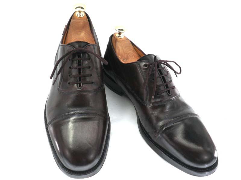 S.Z.DUNONT デゥノント 約25.0-25.5cm  スペイン製・ストレートチップ♪YALAKU-ヤラク-メンズビジネスシューズ・紳士靴【中古】【送料無料】【靴】