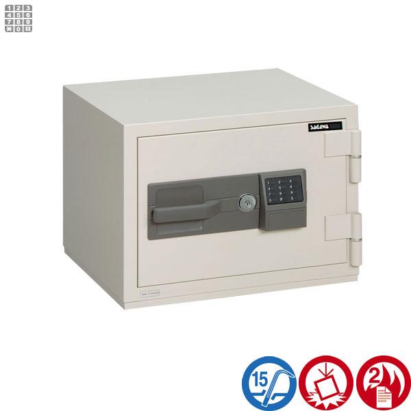 耐火金庫 PCシリーズ テンキー式サガワ SAGAWA PC41T 容量22リットル【RCP】