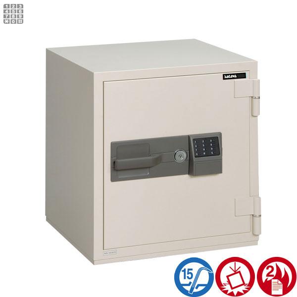 耐火金庫 PCシリーズ テンキー式サガワ SAGAWA PC60T 容量50リットル【RCP】