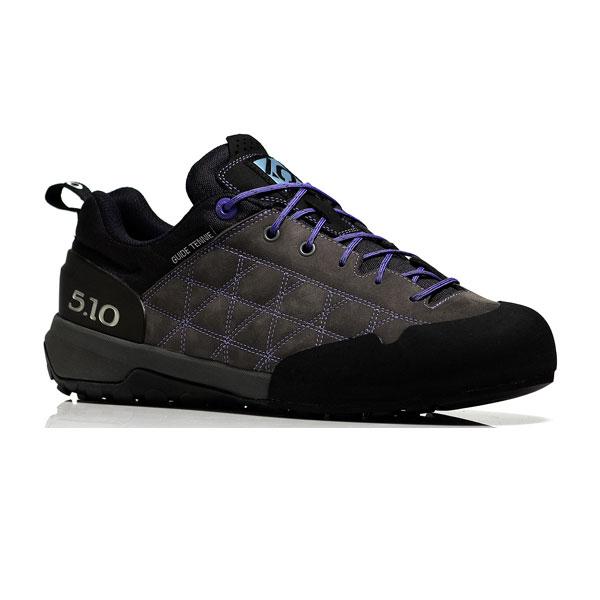 送料税込 FIVETEN(ファイブテン) ガイドテニーWs (Chacoal_Iris)/65 1400465ブーツ 靴 トレッキング トレッキングシューズ ハイキング用女性用 アウトドアギア