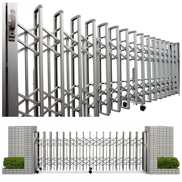 伸縮ゲート レイオス3型 片開き 51S H1150 PGA-3 駐車場 ゲート YKK AP