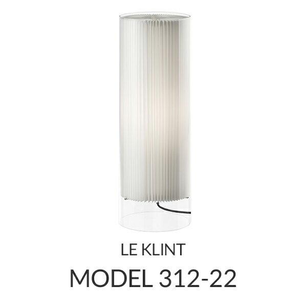 【正規品】LE KLINT(レ・クリント)「Floor Lamps 312-22」[φ20 x H60(cm)]北欧照明 北欧デザインライト、北欧インテリア フロアライト レクリント 【送料無料】