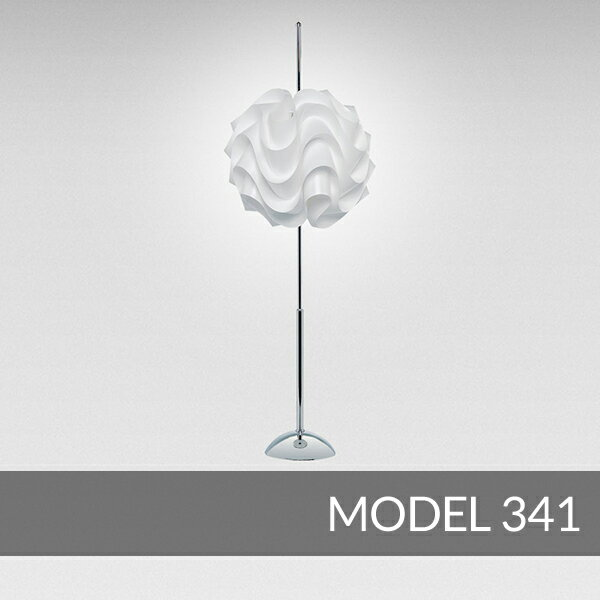 【正規品】LE KLINT(レ・クリント)「Table 341」[φ33 x H95(cm)]北欧デザインライト、北欧インテリア フロアライト、スタンドライト 照明 レクリント【送料無料】