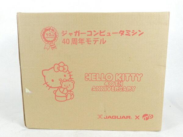 新品 【中古】 ジャガー NKT-40th ハローキティ40周年記念モデル ミシン  K2637530